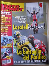MOTOSPRINT n°42 2000  Test Ducati Monster S4 Yamaha YZF R6 - Rossi vs Bia  [P65]