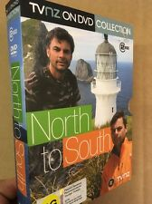 North To South:Marcus Lush New Zealand TV One Series(UK DVD)Travel Island Otago