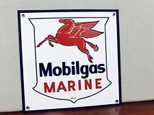 Mobilgas marine rare Mobil Gas pegasus oil gasoline vintage advertising sign