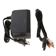 GN- AC Power Adapter Cord + Audio Video AV Cable for Nintendo 64 System Beamy