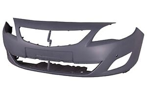 VAUXHALL ASTRA J 2009 - 2012 FRONT BUMPER PRIMED WITH SENSOR NEW OE 13264415