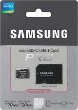 Tarjetas de memoria Samsung clase 10 para teléfonos móviles y PDAs con 16 GB de la tarjeta