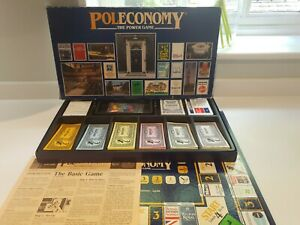 Vintage Poleconomy Board Game - Very Good Condition Complete