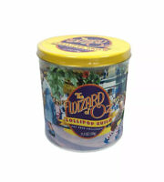 Vintage 1998 Wizard of Oz Lollipop Guild Fat Free Lollipops Tin New Old Stock