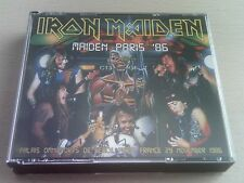 IRON MAIDEN - MAIDEN PARIS '86 -LIVE CD & DVD- SOMEWHERE ON TOUR '86 - FREE POST