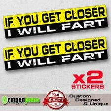 * Magnet If I Wanted to Hear From An A-hole I/'d Fart Magnetic Bumper Sticker