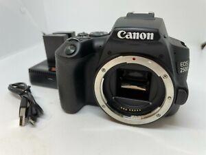 Canon EOS 250D Digital SLR Body Only - UNUSED