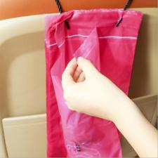 50pcs Car Waterproof Garbage Bag Disposable Trash Bag Capacity Litter Portable