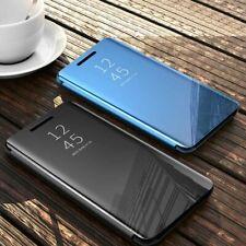CUSTODIA PER Oppo Find X2 Pro Find X2 Neo Find X2 Lite Mirror Flip Case Cover