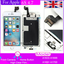 For iPhone 6S 4.7'' Screen Replacement LCD Touch Digitizer +Camera+Button White