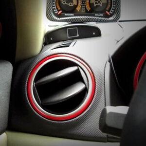 Car Interior Decor Red Point Edge Gap Door Panel Accessories Trim Molding Line