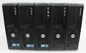 DELL OptiPlex 780 Intel.C 2 Duo E8400 3GHz 2GB RAM No HDD Computer Desktops 5x