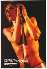 """IGGY POP AND THE STOOGES Poster [Licensed-New-USA] 24x36"""" Size (Raw Power)"""