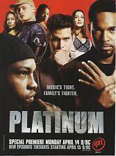 PLATINUM- 2003 UPN TV show ad