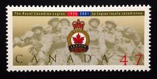 Canada #1926 MNH, The Royal Canadian Legion Stamp 2001