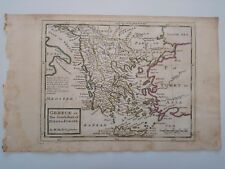 1732 Herman Moll Mapa Greece or The South Part of Turky in Europe Grecia Map