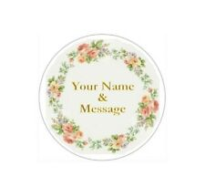 "2"" PERSONALIZED CUSTOM STICKERS LABELS BABY SHOWER WEDDING GRADUATION #7P"