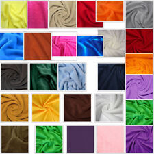 32 Plain Colours Polar FLEECE Anti Pill Washable Soft Fabric Material Sold ByMet