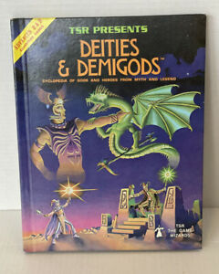 Advanced Dungeons & Dragons TSR Deities & Demigods 128 Pages 1980