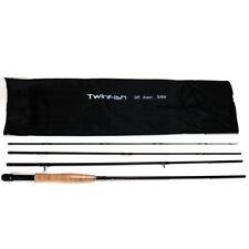 Twinfish Fly Fishing Rod 9ft 5/6WT 4Sec Fly Rod