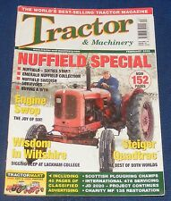TRACTOR & MACHINERY FEBRUARY 2006 - NUFFIELD SPECIAL/STEIGER QUADTRAC