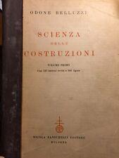 Odone Belluzzi - Scienza delle costruzioni volume primo