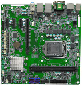 Intel Kaby Lake DVI 2x DP PCIe x16 4x SATA Dual LAN 1151 Micro ATX Motherboard