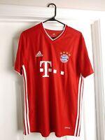 FC Bayern Munich Davies #19 Home Adidas Soccer Jersey Men's Large '19/'20