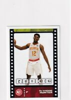 2019-20 PANINI RC DE'ANDRE HUNTER HAWKS NBA STICKER/CARD COLLECTION - X1394
