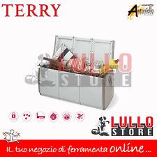 CASSAPANCA BAULE RESINA ANTIURTO CASA GIARDINO ESTERNO BOX140 140X54X57H TERRY