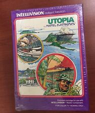 NEW Factory Sealed Utopia game for Intellivision  mint condition