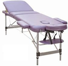 TABLE DE MASSAGE N3P PLIANTE PORTABLE EN ALUMINIUM 3 PLANS ZONES kiné tattoo