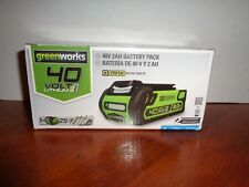 Genuine Authentic 40v GreenWorks G-MAX Universal Lithium Battery Pack 40 Volt