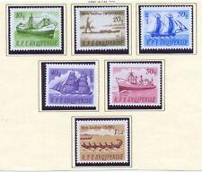 Albania 1965 SG 964-9 Ships MNH
