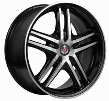 "ALLOY WHEELS X 4 17"" BMF EX5 FITS AUDI 80 90 100 FORD MAZDA 121 2 VOLVO 4x108"