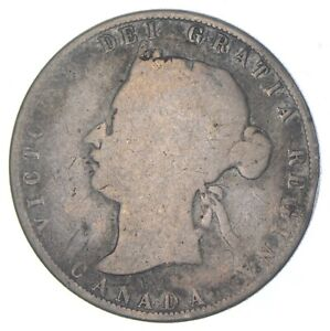 Better Date - 1872 Canada 50 Cents - SILVER *258
