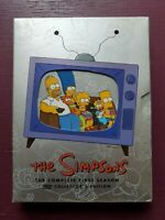 The Simpsons - The Complete First Season (DVD, 2007, 3-Disc Set, Bonus Movie...