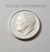 1998 S ROOSEVELT *90% SILVER PROOF* DIME **FREE SHIPPING**