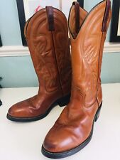 red wing pecos Cowboy boots Vibram Sole Size 8 UK USA 9