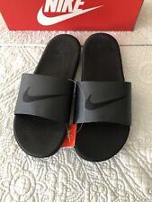 Nike Kawa Slides Black Sandals Flip Flop  Men Size 12 New In Box