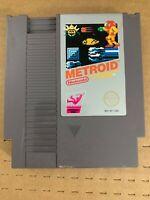 Metroid NES Cartridge 100% Authentic Nintendo Original Tested & Working!