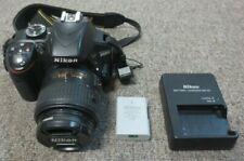 Nikon D3300 Digital Camera With Nikon 18-55mm Len, Charger & Batteries