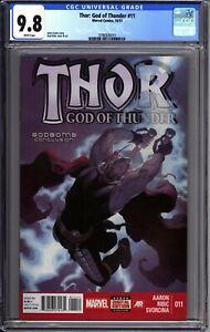 Thor God of Thunder #11 - CGC 9.8 - 1st Necro-sword - Marvel Comics Jason Aaron