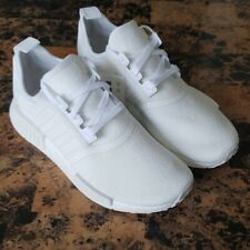 New Adidas NMD R1 Triple White Women's Athletic Sneakers - Size 8.5