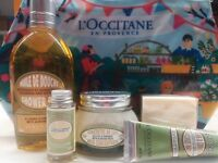L'Occitane  Christmas Almond Collection