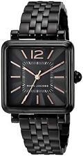 Brand New Marc Jacobs Vic Black Steel Bracelet Women's Watch MJ3518 MSRP $250