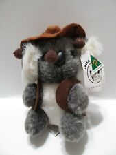 "Aussie Bush Koala Marsupial Plush 7"" Stuffed Toy Lovey Made Australia"