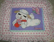 Vintage Lamb Chop Pillow Sham Case 1993 Shari Lewis