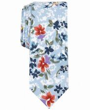 Original Penguin Men's Blue Ancel Floral Print Skinny Neck Tie Cotton $55 179