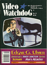 VIDEO WATCHDOG Magazine #41 -  Edgar G. Ulmer - Inner Sanctum - Mars Attacks!